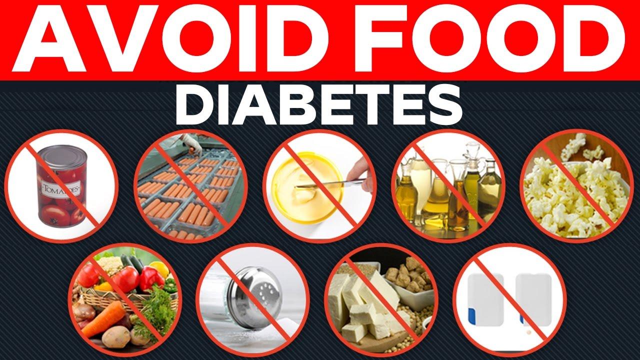 DANGEROUS FOODS FOR DIABETIC PATIENTS || Health Tips